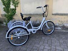 "BICICLETTA A TRE RUOTE/Triciclo Trike Bike Cruise 6S W/Basket, adulti 24"""