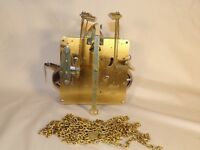 Hermle Clock Movement w/ Brass Chains