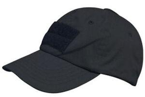 Condor Tactical Cap Hat - Black - TC-002