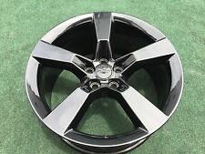 4 GENUINE CHEVROLET CAMARO 20 INCH GLOSS BLACK WHEELS RIMS OEM GM FACTORY RARE