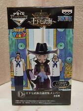New One Piece Ichiban Kuji Prize D Mihawk Figure Banpresto from Japan
