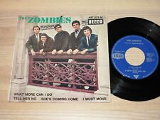 "THE ZOMBIES EP 7"" SINGLE - TELL HER NO / FRENCH DECCA 457.075 in MINT/MINT-"