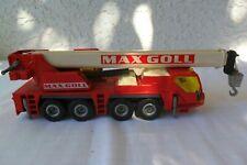 Siku Super 3730 Car Crane Liebherr LTM Max Goll Very nice condition