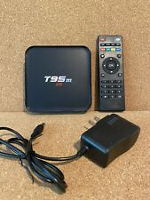 T95M Android TV Box 4K  New (Never Used)