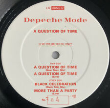 "DEPECHE MODE -A Question Of Time- Rare UK 12"" Promo /Numbered - (Vinyl Record)"