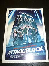 ATTACK THE BLOCK, film card [Nick Frost, Jodie Whittaker, John Boyega]