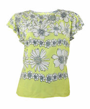 Viscose Formal Floral Other Women's Tops