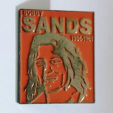 Bobby Sands Enamel Pin Badge - Election Poster Irish Republican Hunger Striker