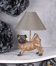 Mopslampe Antique Light Pug Lamp Light Pugs Dog Figurine Bedside Lamp