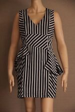 Cue Stripes Short Sleeve Dresses for Women