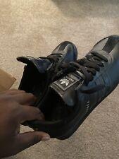 Adidas Originals Samoa Mens Leather Shoes Sneakers Sz 10 Black W/o Box