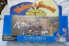 WALLACE & GROMIT  THE CURSE OF THE WERE RABBIT CAULIFLOWER COLLECTION FIGURES