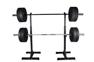 Exersci Premium Heavy Duty Squat Rack with Weight Bench Support