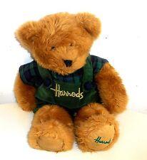 HARROD'S LONDON - 14 Inch Plush ~ TEDDY BEANIE BEAR  (HA4)