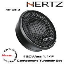 "Hertz MP 25.3 1.14"" TWEETER AUTO componente 120 W"