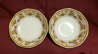 Two (2) Antique VICTORIA Porcelain China - RAFAELESQUE Pattern - DESSERT BOWLS