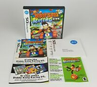 Diddy Kong Racing NO GAME (Nintendo DS, 2007) CASE AND INSTRUCTIONS ONLY