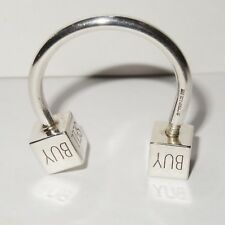 Authentic Tiffany & Co. Sterling Silver Key Ring Hold Sell Buy Pre-owned