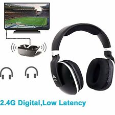 Digital Wireless Over-Ear Headphones TV,Artiste 2.4GHz UHF/RF for TV Listening