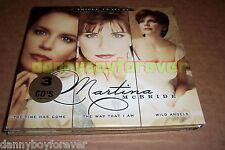 Martina McBride New Sealed 3 CD Set Time Has Come The Way That I Am Wild Angels