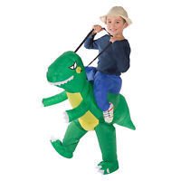 Kids Childrens Child Inflatable Animal Dinosaur Dino T Rex Fancy Dress Costume