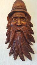 Lindenholz Skulptur.Holzmaske tolles Geschenk zu Weihnachten