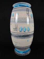 "FRITZ FRIEDRICH HUDLER German Studio Art Deco 10"" Pottery Vase"