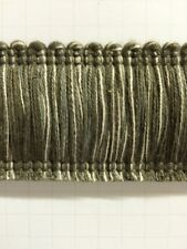 "1.75"" 100% Cotton Brush Fringe Trim BRF-2/2-17 Extra Thick (Sold by the Yard)"