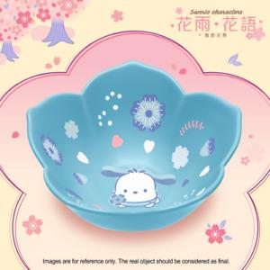 "7-11 ""Blossom in the flower season"" Sanrio Characters Ceramic Bowl - Pochacco"