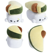"Sushi 6"" Avocado Toy Cushion Bedding Cute Pillow Choba Soft Cotton Japanese Food"