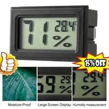 Mini Digital Lcd Indoor Temperature Humidity Meters Thermometers Hygrometers New