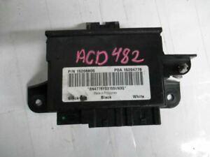 Body Control BCM Rear Fits 02-08 BRAVADA ISUZU ASCENDER RAINIER  ENVOY 15206805