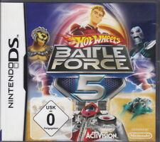 Hot Wheels: Battle Force Five  (NDS) In Box, mit Anleitung
