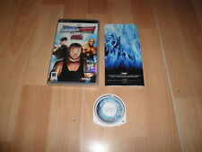 WWE SMACKDOWN VS. RAW 2008 DE THQ PARA LA SONY PSP EN BUEN ESTADO
