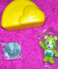 Care Bears 2020 ♡ Good Luck Bear ♡ New - Collectible Figure & Coin - Opened