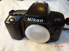 Nikon F70 F 70 35mm film AF SLR Camera Japan Made FULL WORKING ORDER