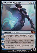 1x Jace, Memory Adept M12 MtG Magic Blue Mythic Rare 1 x1 Card Cards