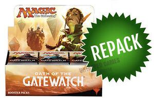 Oath of the Gatewatch OGW Booster Box Repack! Magic! 36 Opened MTG Packs in Box