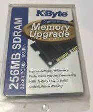 KByte 256 MB Memory Upgrade SDRAM 168 Pin PC 100  A4