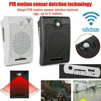 PIR Infrared Human Body Induction Motion Sensor Voice Audio Reminder 100-240V