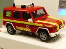 90 0002 13 2St NEU H0 Kühlergrill W50L Feuerwehr Bauchbinde Vorwendezeit