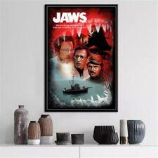 Jaws Movie Horror Shark #hallowenn Poster, Unframed, Jaws Movie Horror Shark #ha