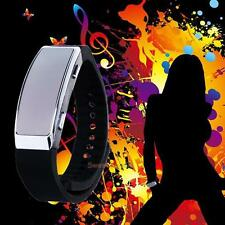 8GB Wearable Digital Dictaphone Wristband Watch Voice Audio Recorder 48 hours