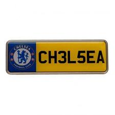 Chelsea Fc Metal Car Number Plate Lapel Pin Badge