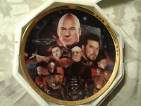 The Best of Both Worlds Star Trek Next Generation Episode Collector Plate #3322C