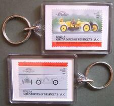 1911 MARMON WASP Car Stamp Keyring (Auto 100 Automobile)
