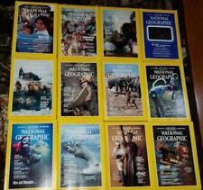 Lot of National Geographic Complete 1984 Alaska Japan Manatee Spain - Free Ship