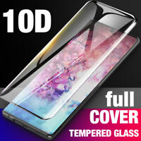 For Samsung Galaxy Note 10 Plus Full Cover Tempered Glass Screen Protector Film