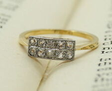 Engagement Band Excellent Cut Natural Fine Diamond Rings