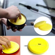12pcs Wax Polish Wax Soft Foam Sponge Applicator Pad For Clean Car Vehicle Glass